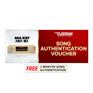 24 Months Song Authentication for Major HD-10