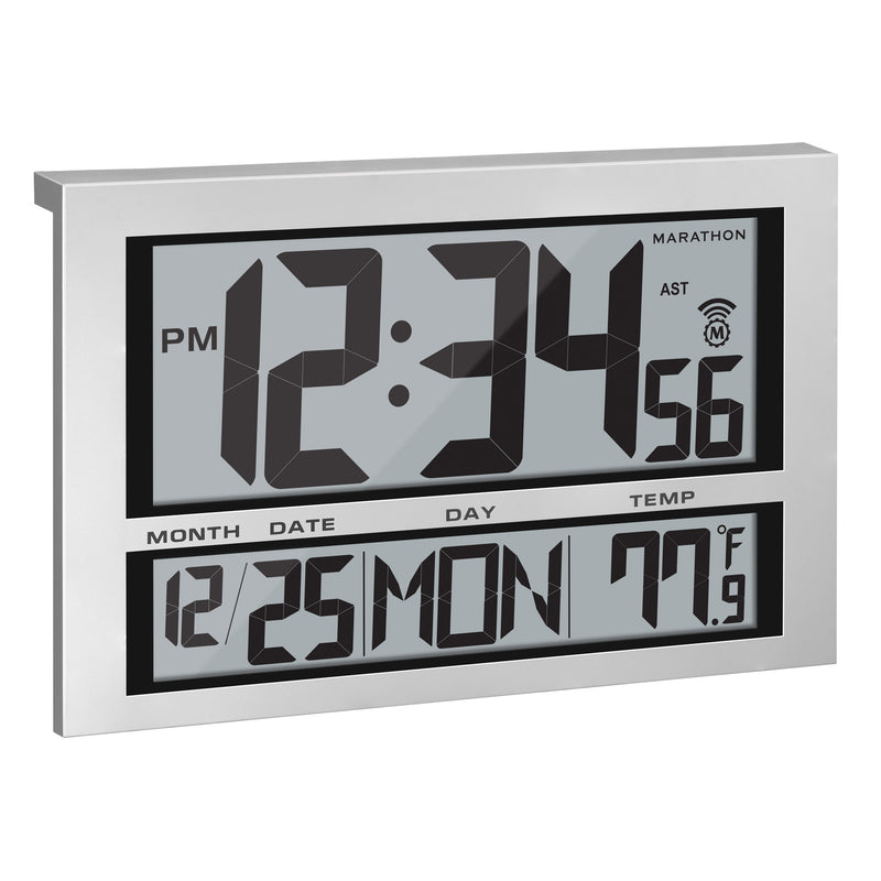 Jumbo Atomic Wall Clock - marathonwatch