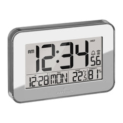 Crystal Framed Atomic Wall Clock - marathonwatch
