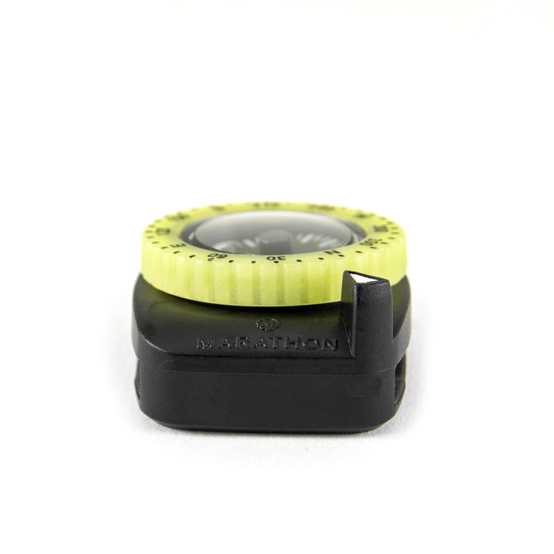 Clip-On Wrist Compass with Glow in The Dark Bezel - marathonwatch