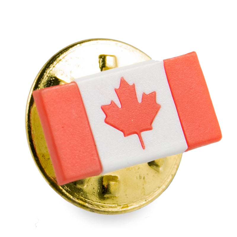Marathon Canadian Flag Lapel Pin/Brooch Pin - marathonwatch