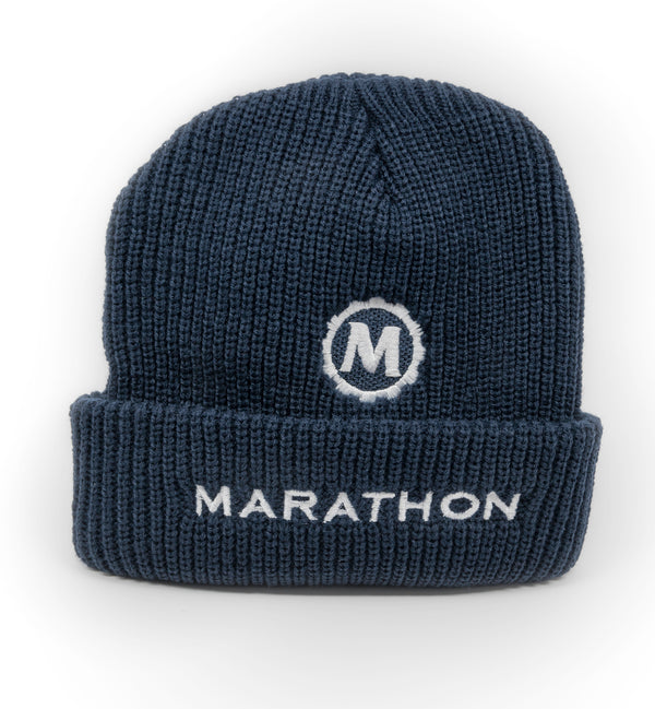 Marathon Knitted Toque - Winter Hat - marathonwatch
