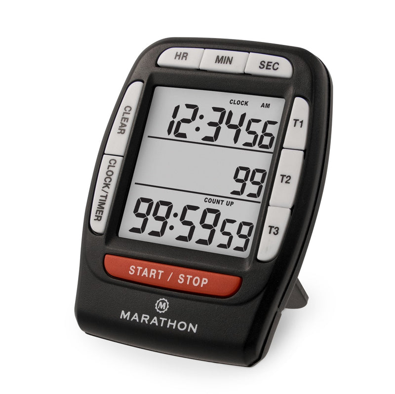 Triple Timer with Clock Function - marathonwatch