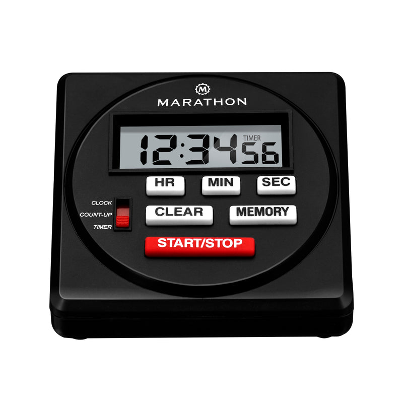 24 Hour Digital Timer with Countdown, Count-up and Clock Feature - marathonwatch