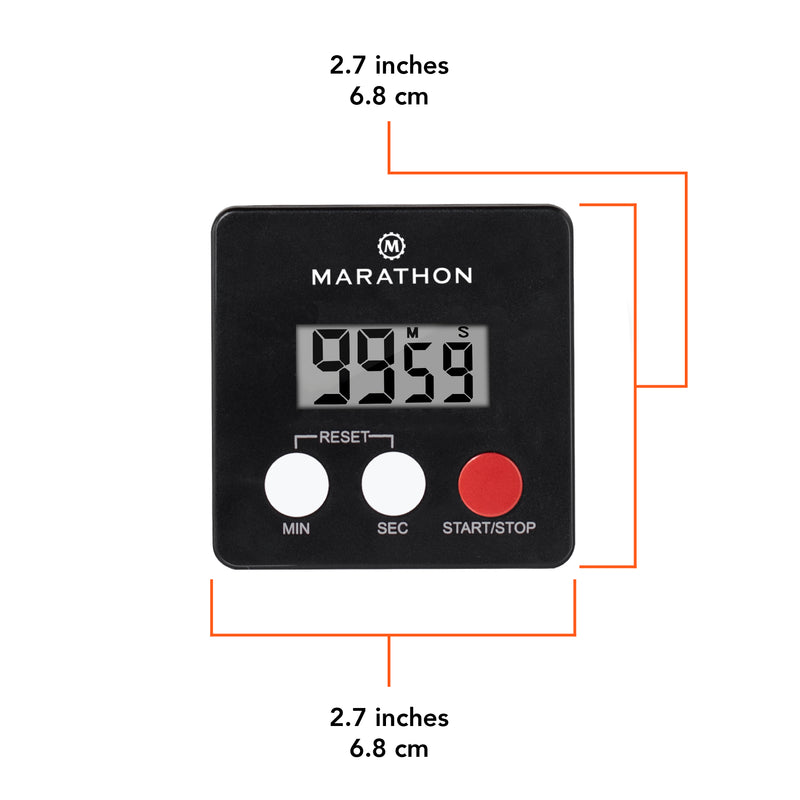 Digital 100 Minute Timer - marathonwatch