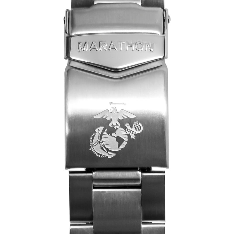 18mm Stainless Steel Bracelet For Medium Search & Rescue Automatic (WW194026) Watch - marathonwatch