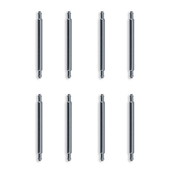 Swiss Made Shouldered 316L Stainless Steel Spring Bars