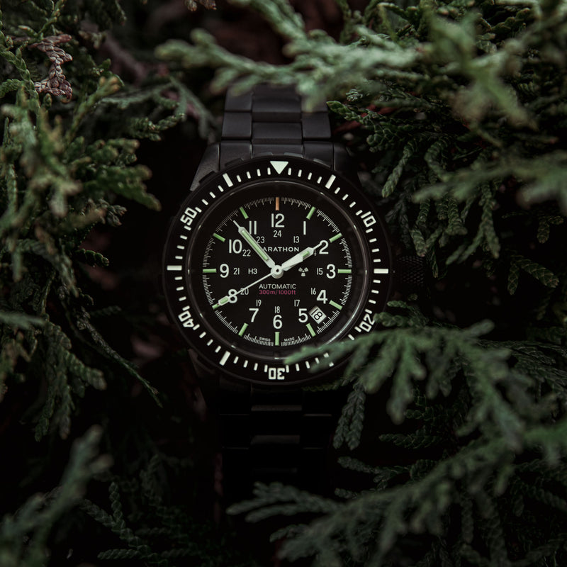 Anthracite Large Diver's Automatic (GSAR) - 41mm