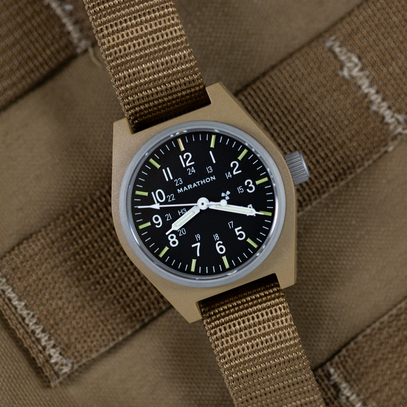 Desert Tan General Purpose Mechanical (GPM) No Government Markings - 34mm