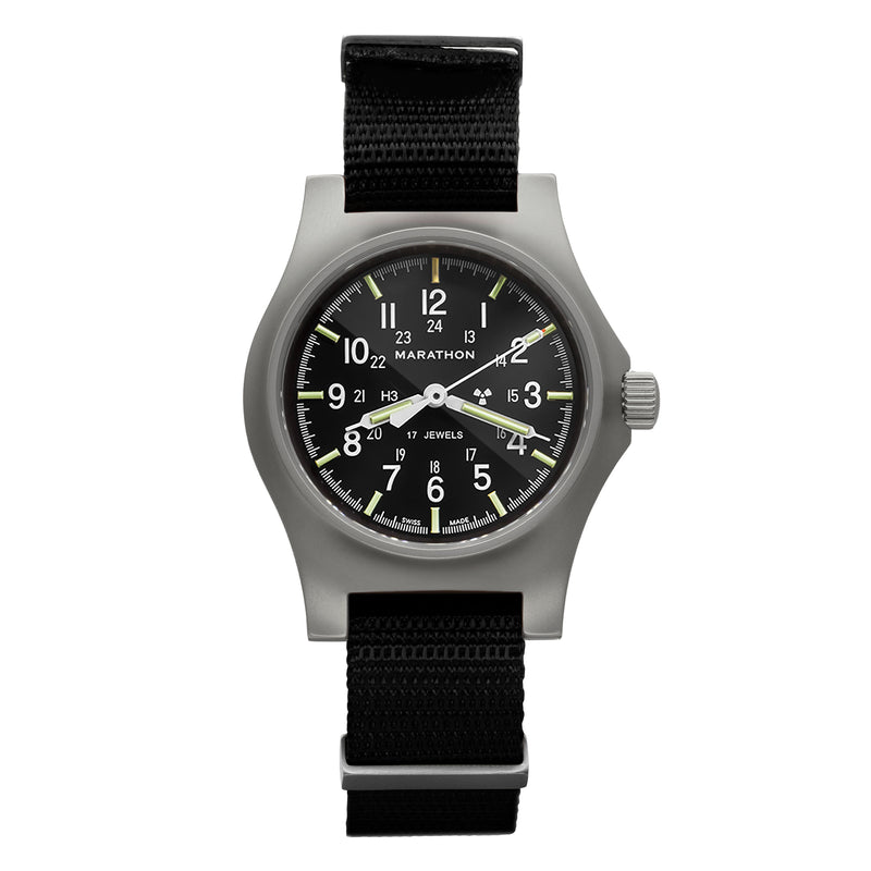 Re-Issue Stainless Steel GP Mechanical (GPM) No Government Markings - 39mm (Case/Crown)