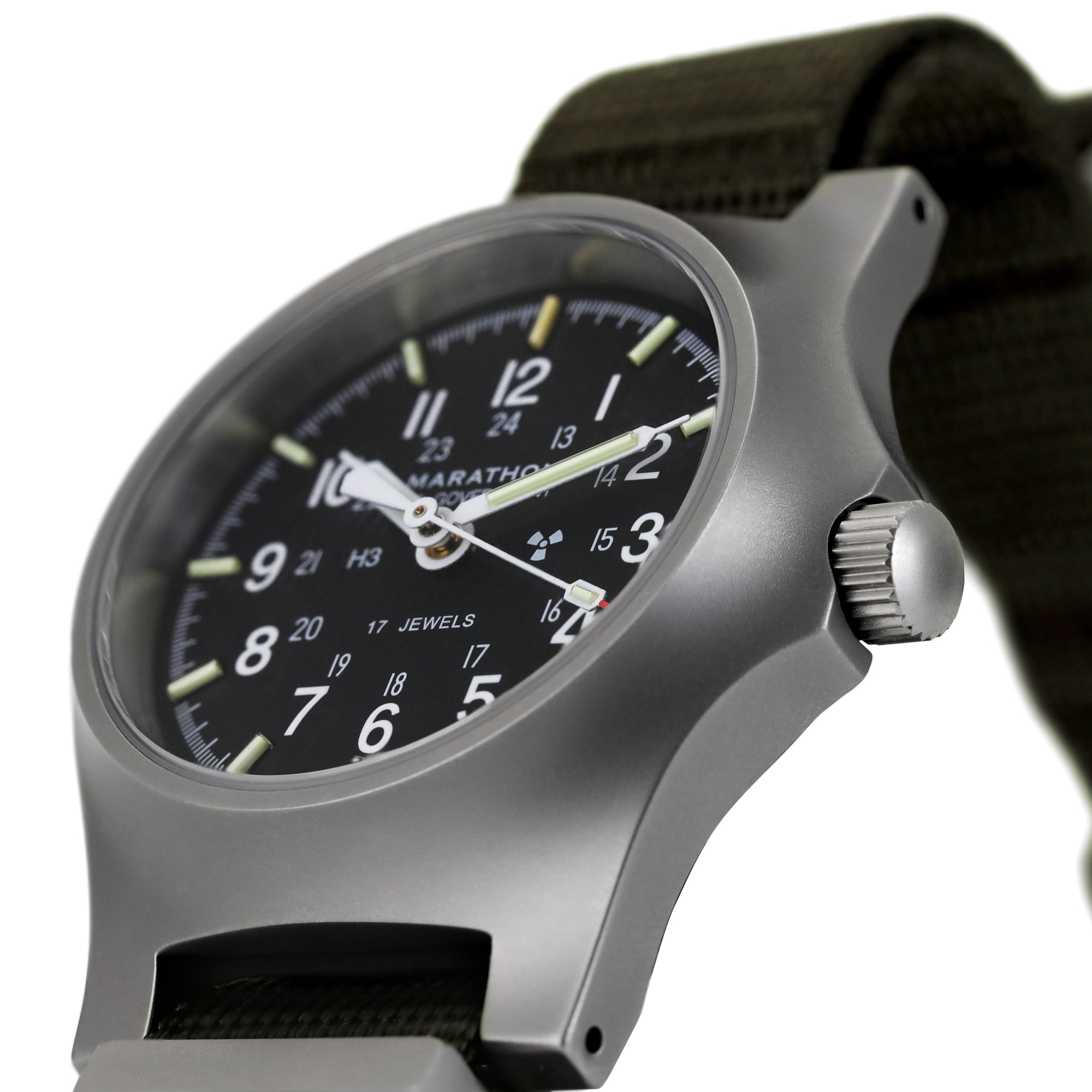 Re-Issue Stainless Steel GP Mechanical (GPM) 39mm (Case/Crown)