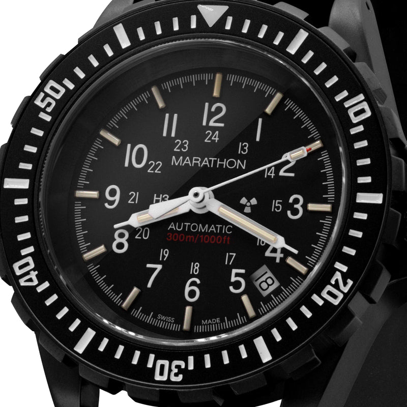 Anthracite Large Diver's Automatic (GSAR) No Government Markings - 41mm - marathonwatch