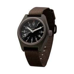 Sage Green General Purpose Quartz with MaraGlo (GPQ) No Government Markings - 34mm - marathonwatch