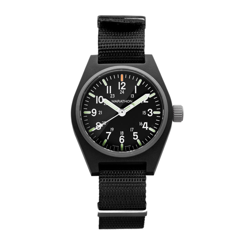 Black General Purpose Quartz with MaraGlo (GPQ) - 34mm