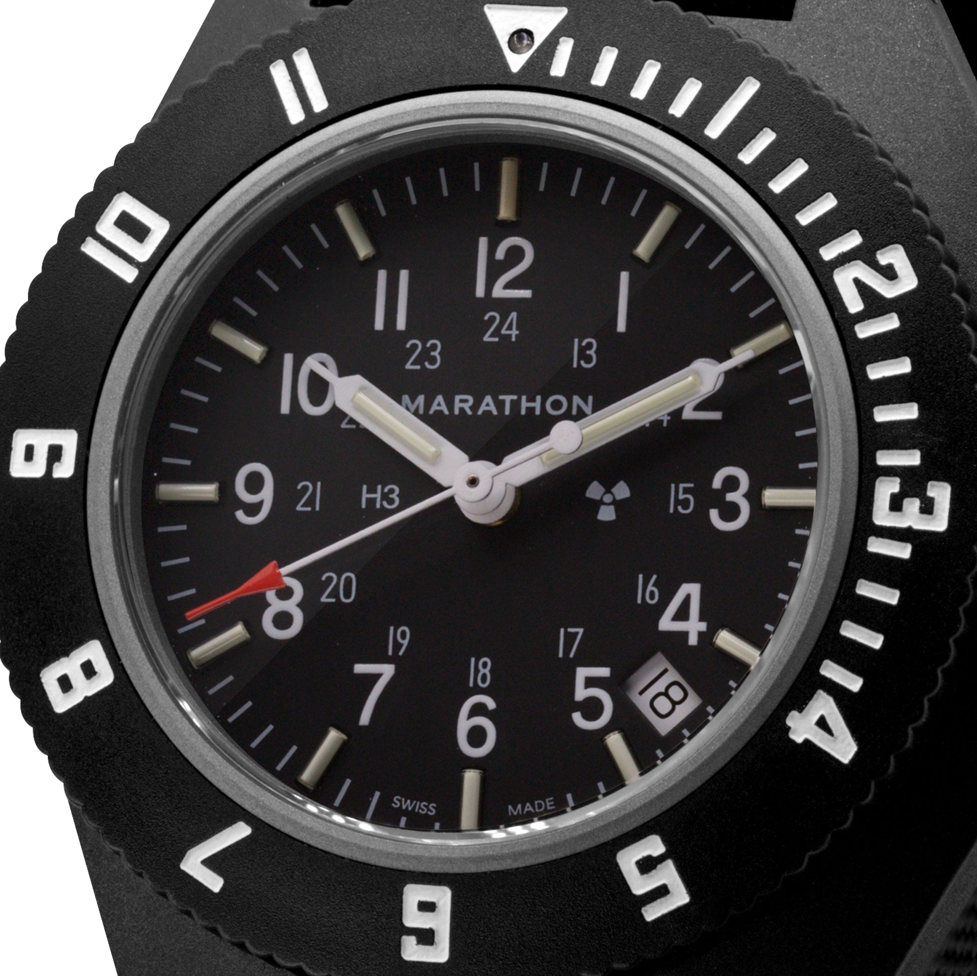 Black Pilot's Navigator with Date - 41mm