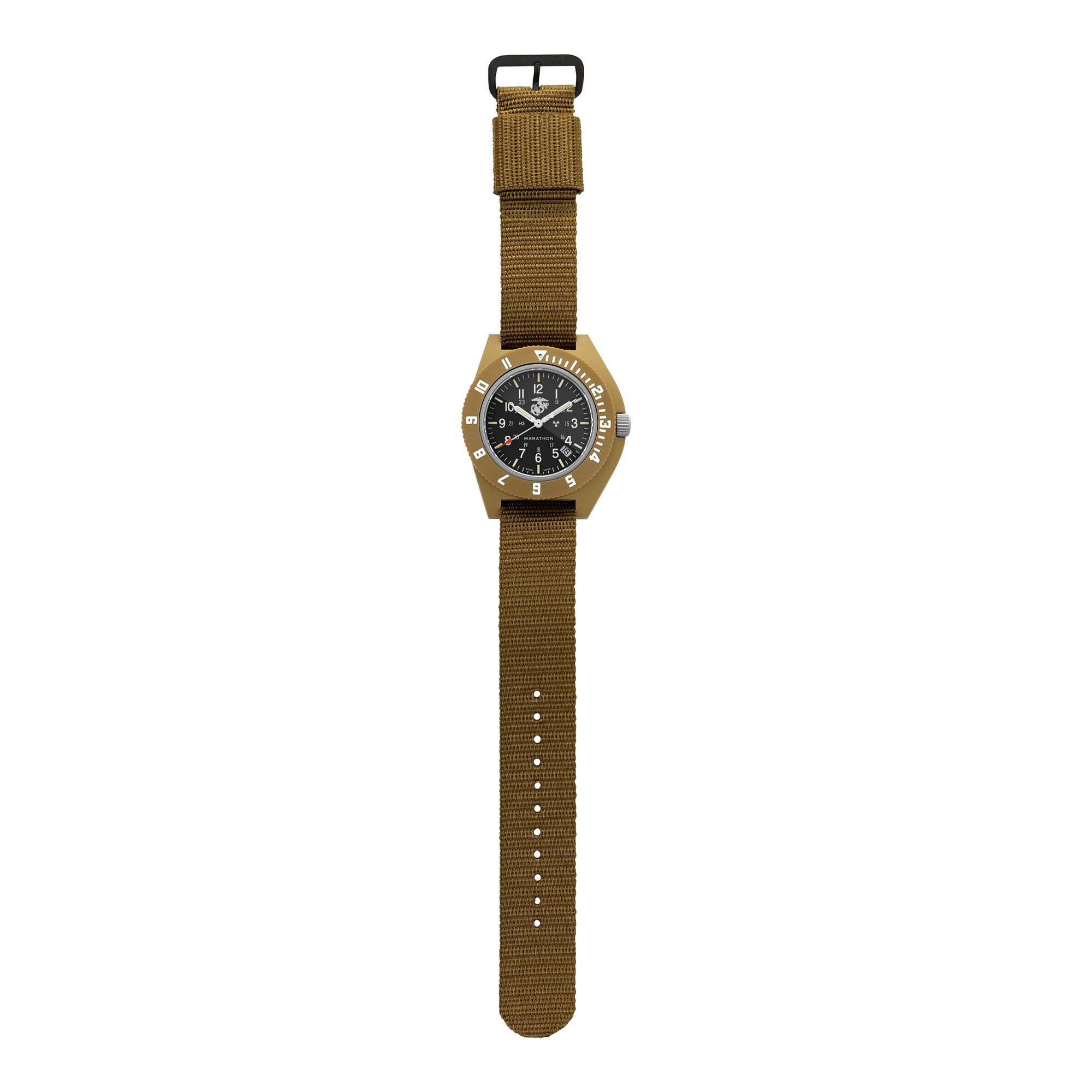 Desert Tan Pilot's Navigator with Date - 41mm