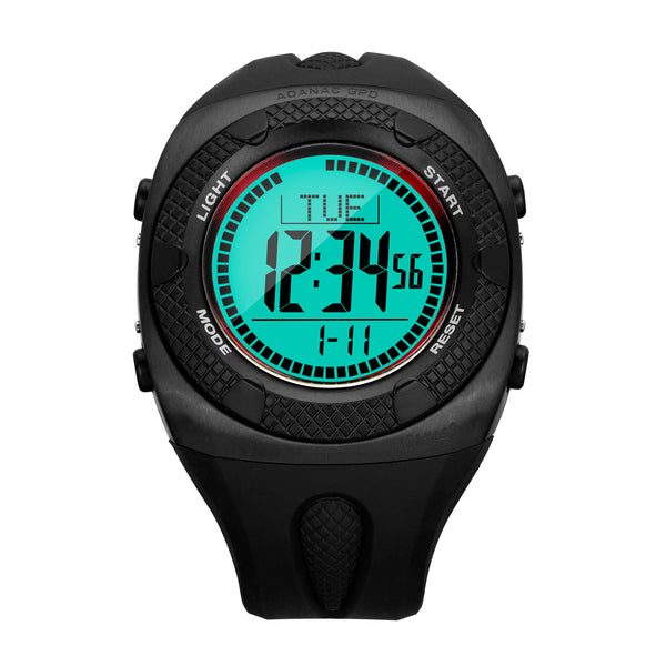 ADANAC General Purpose Digital with Backlight (GPD) - 48mm - marathonwatch