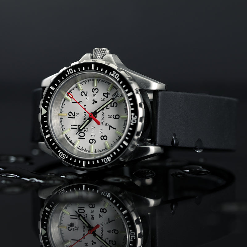 Arctic Edition Medium Diver's Automatic (MSAR Auto) No Government Markings - 36mm - marathonwatch