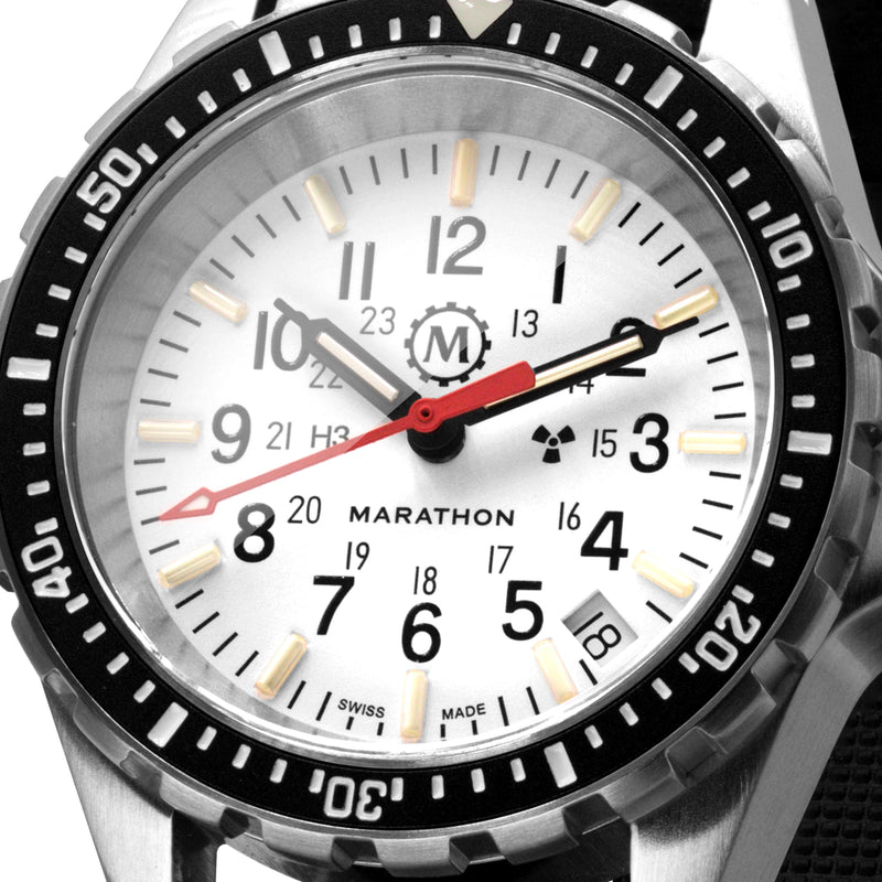 Arctic Edition Medium Diver's Quartz (MSAR Quartz) No Government Markings - 36mm - marathonwatch