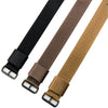 "20mm - 11"" Length - Ballistic Nylon Watch Band/Strap with Stainless Steel Buckle"