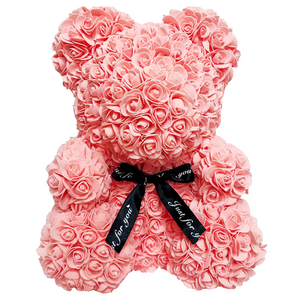 (Valentine's Day Sale-50% OFF Today)-Rose Flower Teddy Bear
