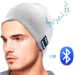 WIRELESS BLUETOOTH HEADPHONE SMART CAPS - 50% OFF