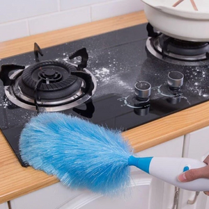 (HOT!!)Electric Dust Mites Cleaning Feather Duster--Best family assistant