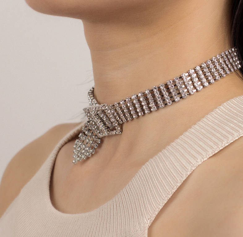 (HOT SALE!) Clavicle Choker with diamond