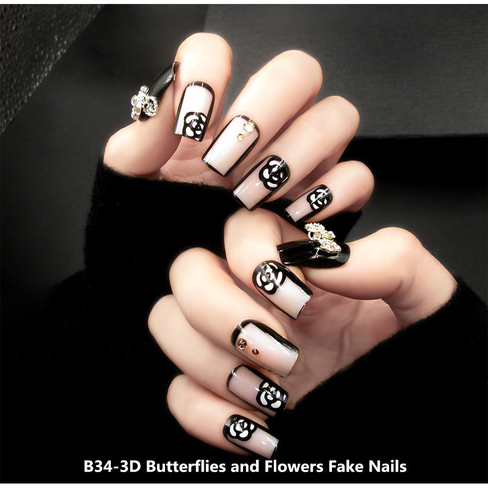 Attractive and Beautiful Fake Nails – outmanlets