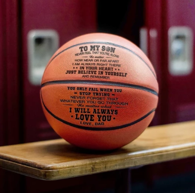 (Best gift)Engraved Basketball