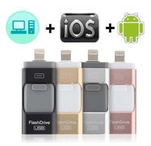(HOT SALE) SALE IFLASH™ - FLASH DRIVE FOR IPHONE, IPAD & ANDROID