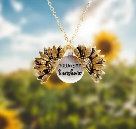 🌻You Are My Sunshine Sunflower Necklace - BUY 1 GET 1 FREE