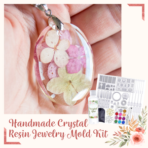 🎁50%OFF🎁Handmade Crystal Resin Jewelry Mold Kit (83pcs)