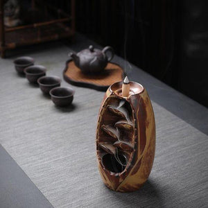 (HOT SALE)Mountain River Handicraft Incense Holder