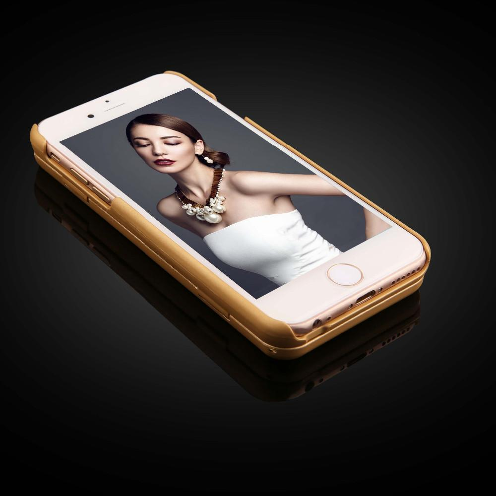 Lily™ - The Luxury Makeup Mirror/Wallet Case for iPhone