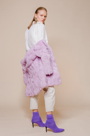 Soft Cony Hair Coat