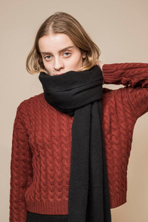 Oversized Wool Scarf