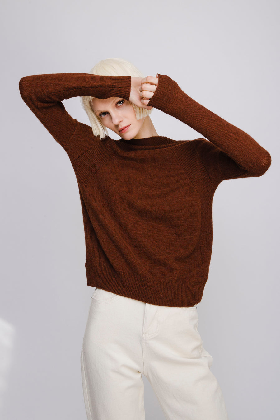 Lightweight Yak Wool Jumper