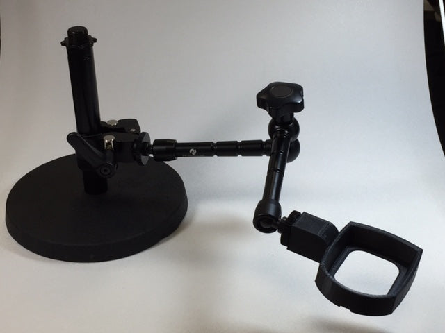 Articulated Arm Stand for MiScope MP2 and MP3 and MiScope MP2 and MP3 Extended Field digital microscopes