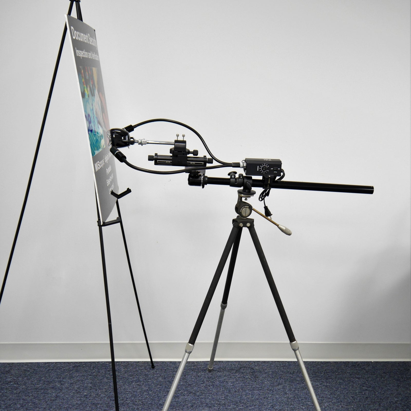 Tripod Pole Assembly Attachment for MP2 and MP3 Extended Field