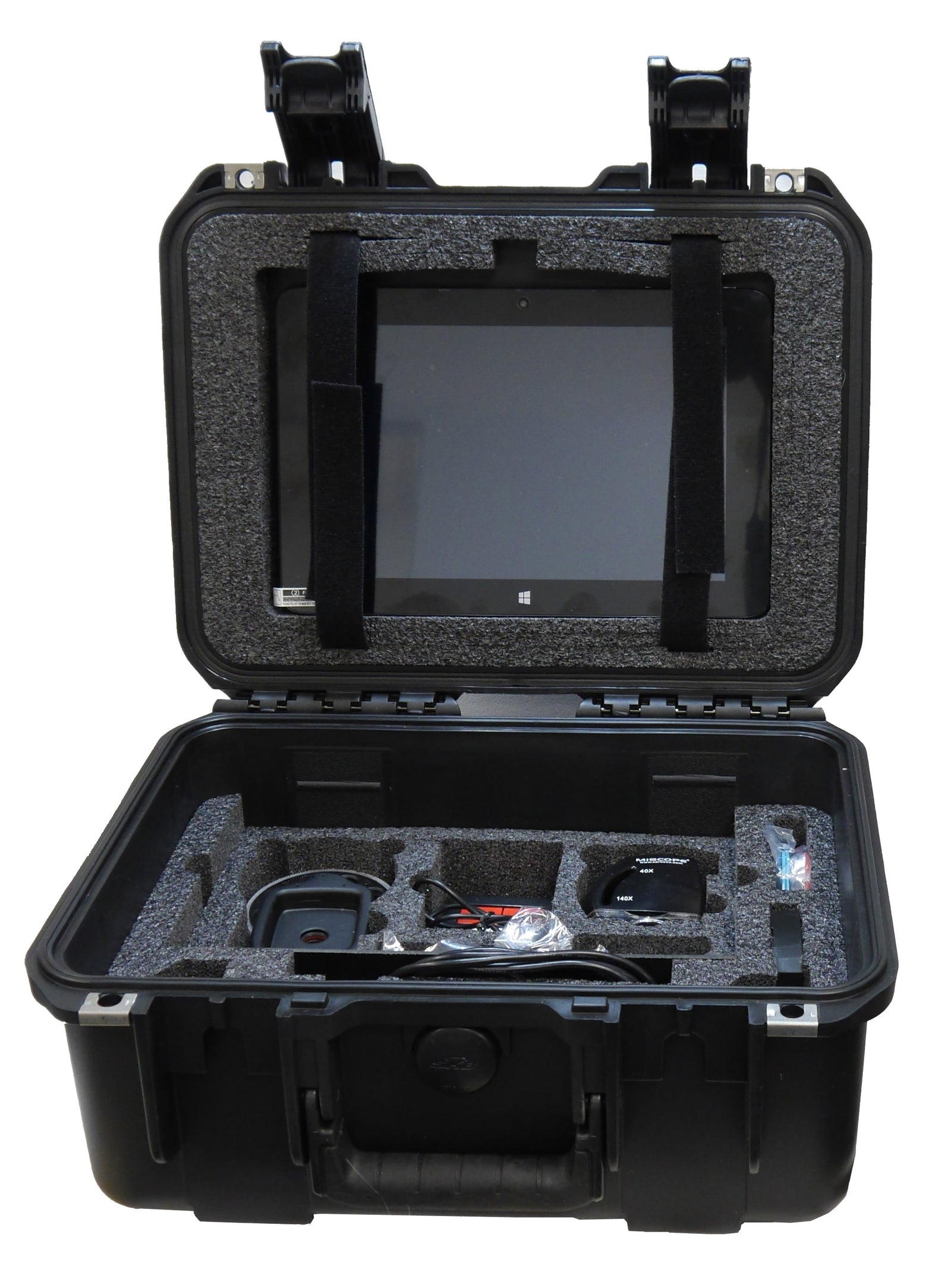 "MiScope MP2 Travel Kit w/ 10"" tablet/notebook"