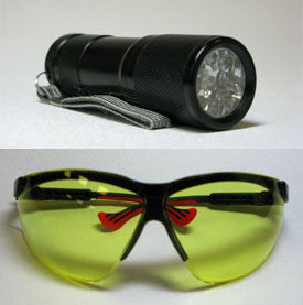 LED UV Flashlight