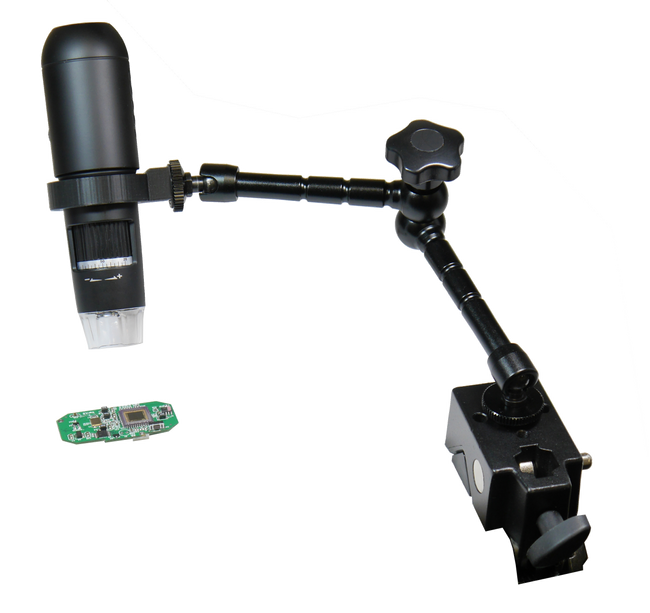 Articulated Arm Stand for HDMI digital video microscope