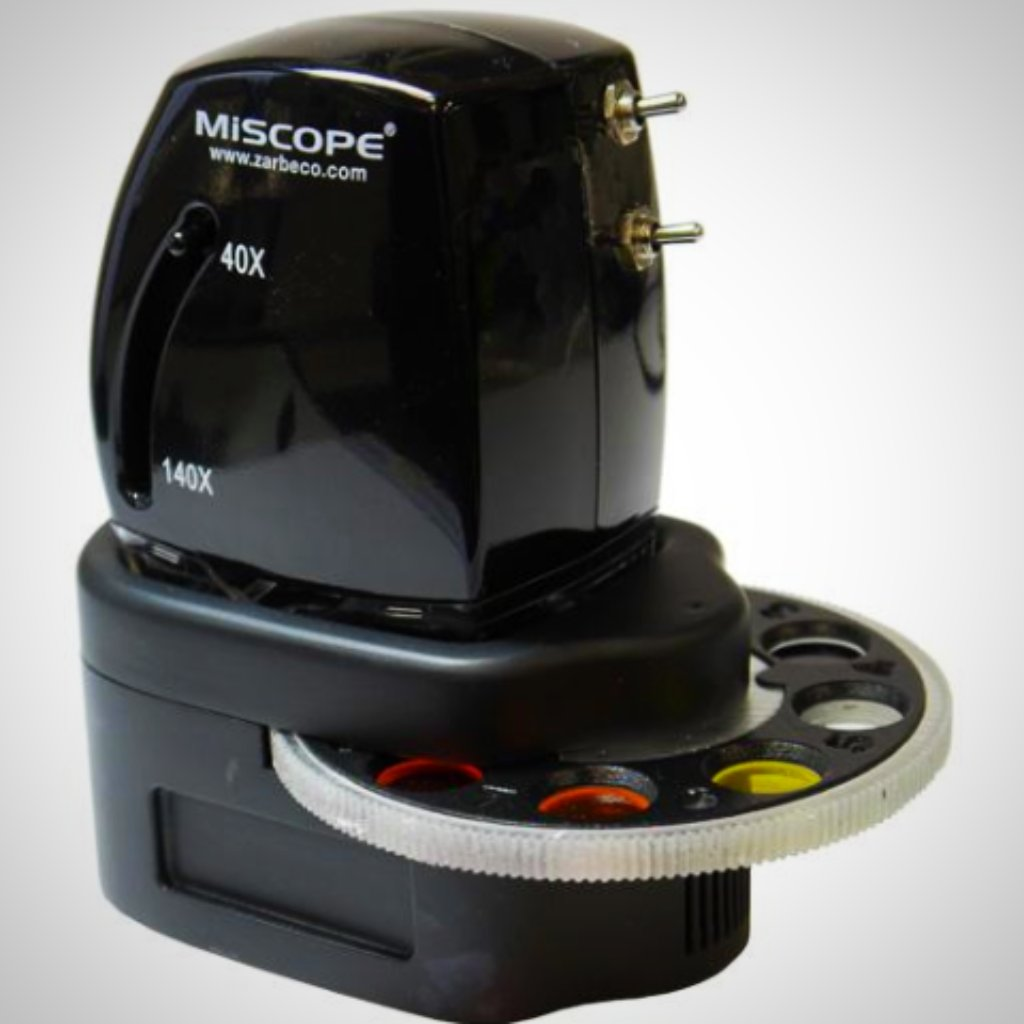 Zarbeco-Miscope-Accessory-Filter wheel- handheld digital microscope
