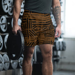 Retro Line- Athletic Long Shorts