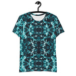 Teal Harmony-  Athletic T-shirt
