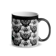 Death's- Head Moth Glossy Magic Mug - Tokinart, LLC