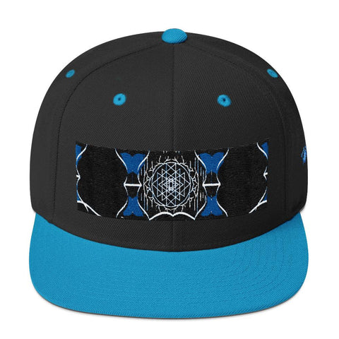 Depth of Blue Snapback Hat - Tokinart, LLC