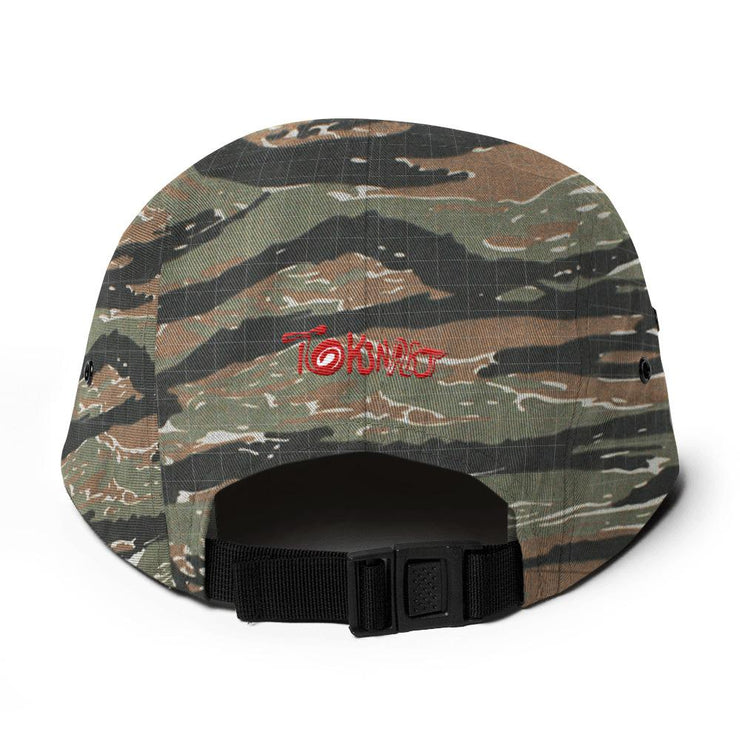 Lava Behr Five Panel Cap - Tokinart, LLC