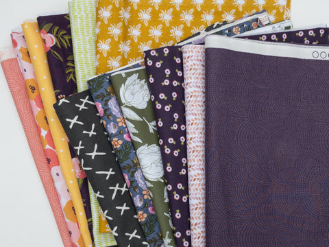 12 pc Monthly Fabric Subscription Bundle | Weave & Woven